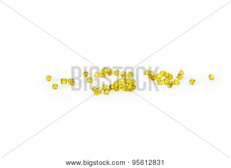 Yellow Synthetic Diamonds