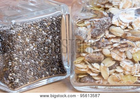 Chia Seeds And Muesli