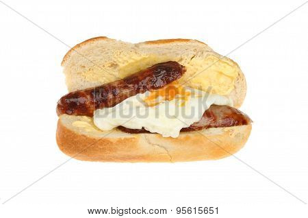 Sausage And Egg Roll