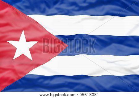 Republica de Cuba flag.