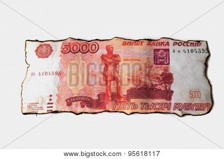 Russian five thousand ruble banknote