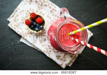Rasberry Smoothie