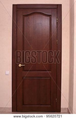 Entrance Door To Living Room