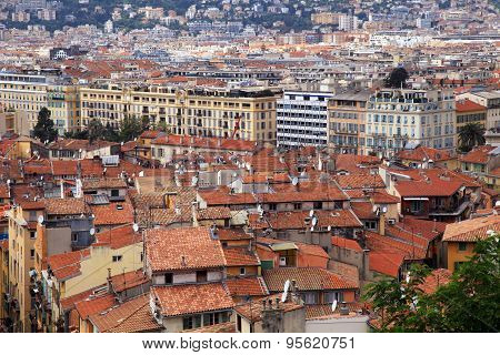 Nice Old Town, French Riviera, France