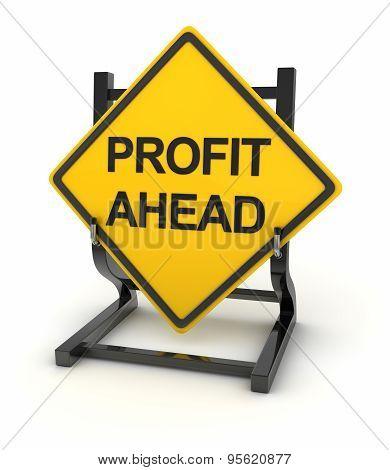 Road Sign - Profit Ahead