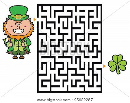 Leprechaun labyrinth