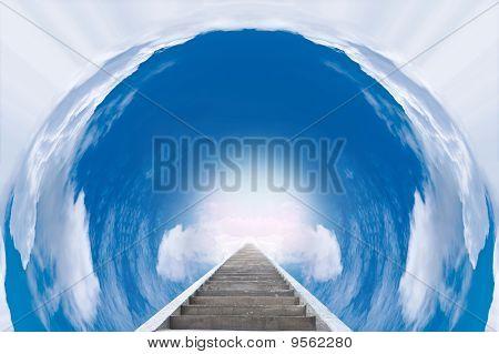 Staircase To Paradise
