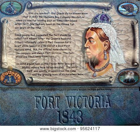 Fort Victoria mural