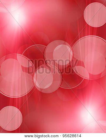 Abstract Blur Red  Background