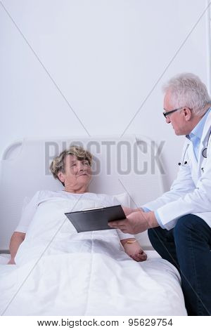 Experienced Aged Doctor
