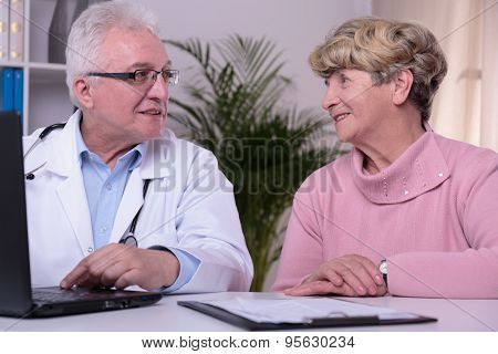 Specialist And Patient's Visit