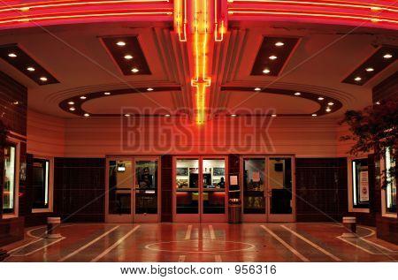 Saguão do teatro