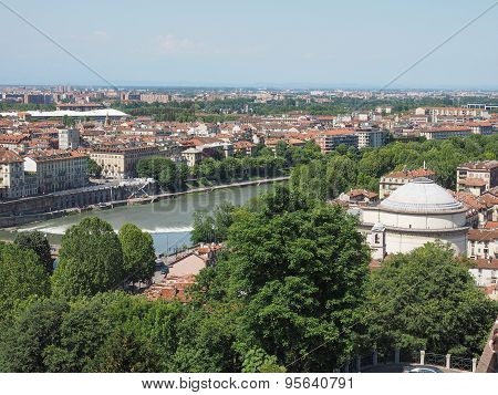 Aerial View Of Turin