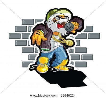 Hip Hop tiger