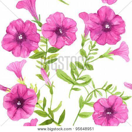 Petunia Flowers Pattern