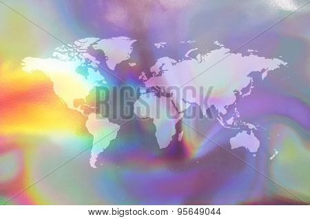 Holographic map