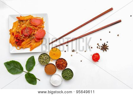 Spaghetti And Spices.