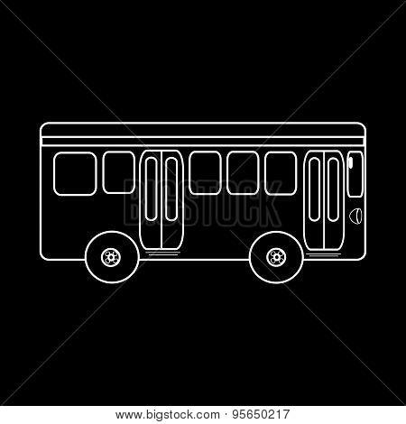 Passenger Bus Journey To City Public Transport