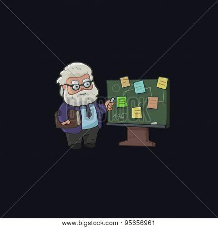 Professor character design
