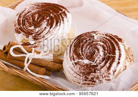Meringue Pastries