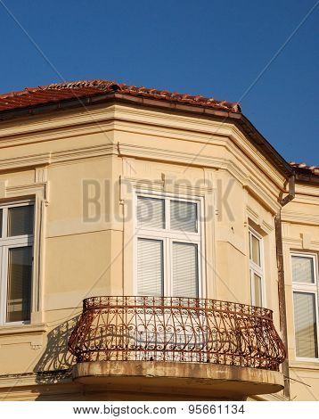 Old Balcony In Bitola, Macedonia