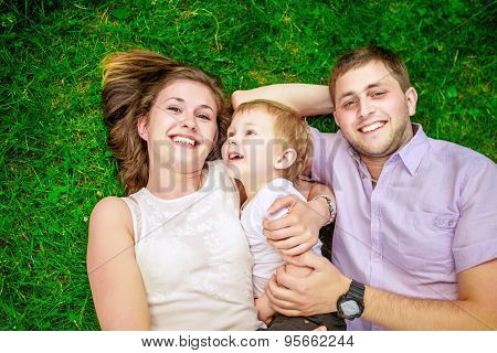family - enjoying the life together