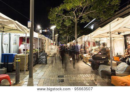 Brisbane Southbank night markets
