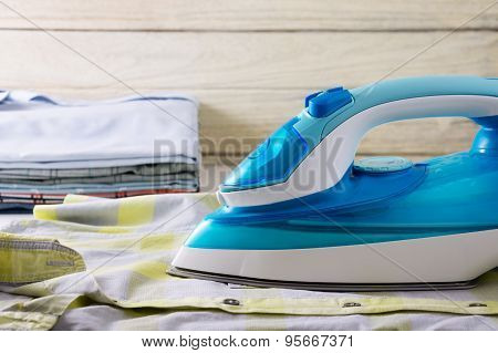 Ironing Clothes Laundry Housework