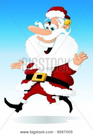 Santa Claus On The Run