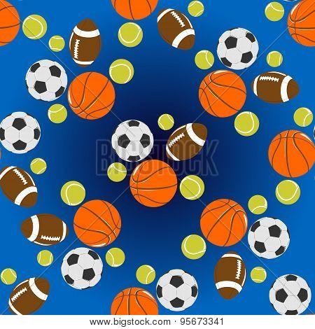 Sport Seamless Background