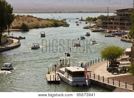 A Bridgewater Channel London Bridge Shot, Lake Havasu City