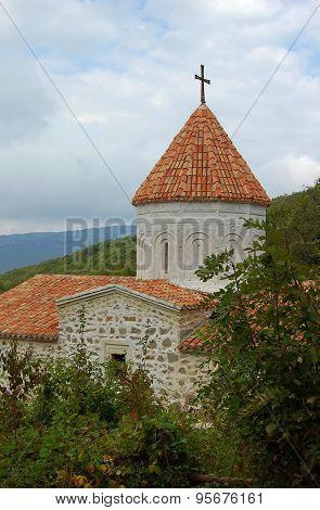 Medieval Armenian monastery Surb Khach in Crimea.