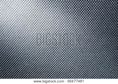 Fabric Nylon Background Texture With Light From Corner