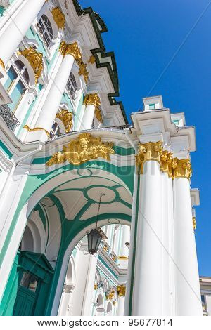 The Porch Of Winter Palace