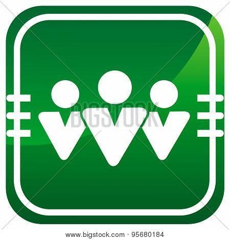 User Vector Green Icon