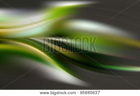 Dark emerald green algae background