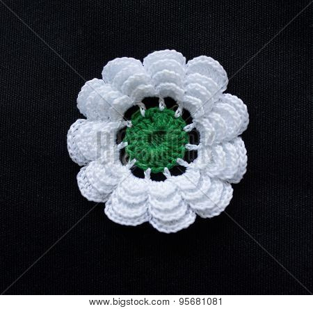 Srebrenica flower, symbol for massacre in that city in Bosnia