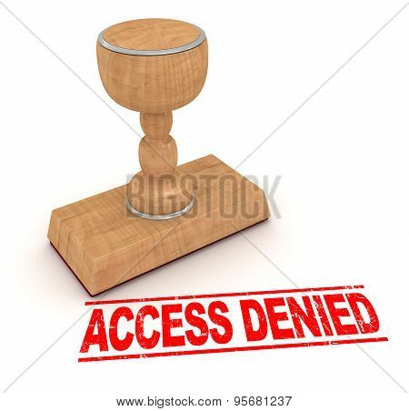 Rubber Stamp - Access Denied