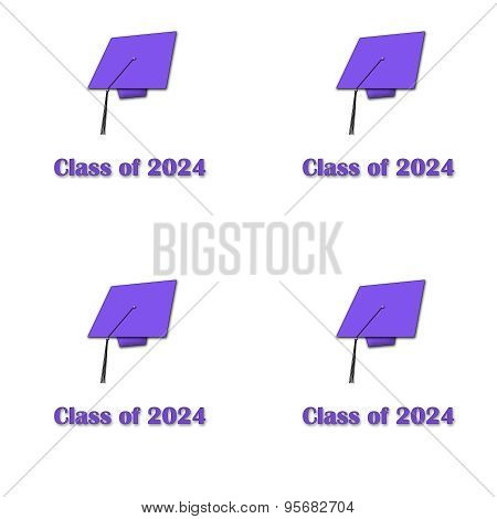 Class of 2025 Ppl on Wht Lg Pattern