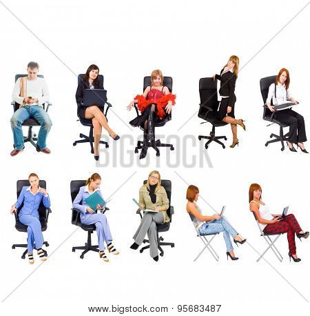 Many Colleagues Workforce Concept