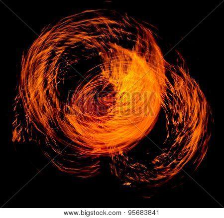 Burning Man Flaming Trails