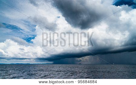 Cloudy Outdoor Coming Storm