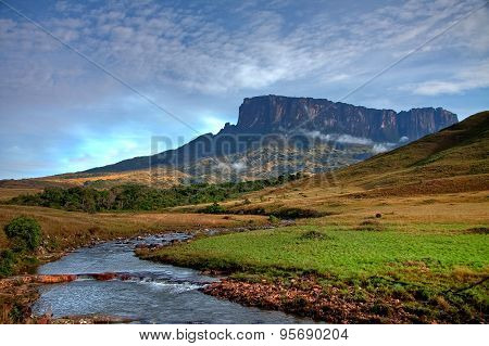 Stunning View To Tepuy Next To Roraima