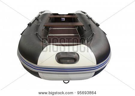 The image of oar boats