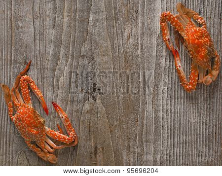 Seafood Menu Signboard Background