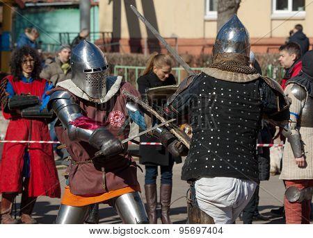 Axes Battle