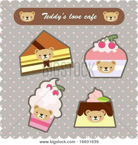 süße Dessert-set 2
