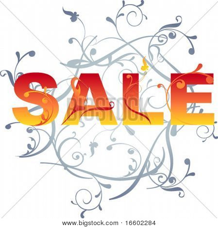 SALE sign design