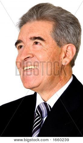 Senior Business Man Portrait