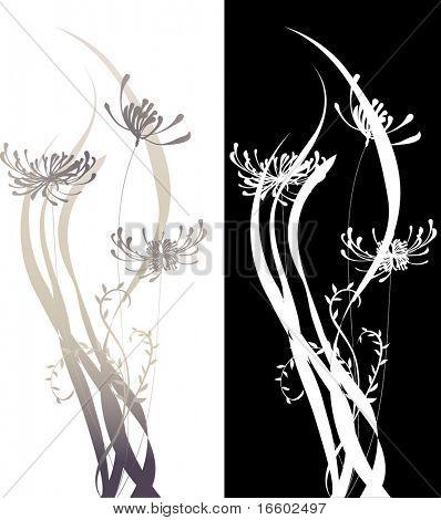 simple flora design